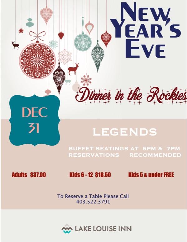 10 Peaks Consulting NYE Dinner Poster